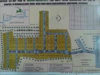 Land for sale in Dream Green City, Kanpur Road area, Lucknow