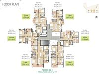 Tower 3&4 - Typical Floor Plan