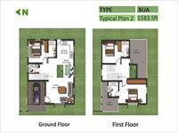 Ground & First Floor Plan-C