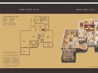 4BHK Lower Level - 2900 Sq. Ft.