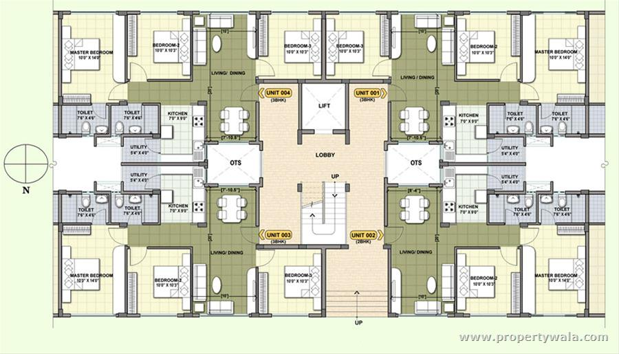 Provident cosmo city pudupakkam chennai apartment for Apartment plans chennai