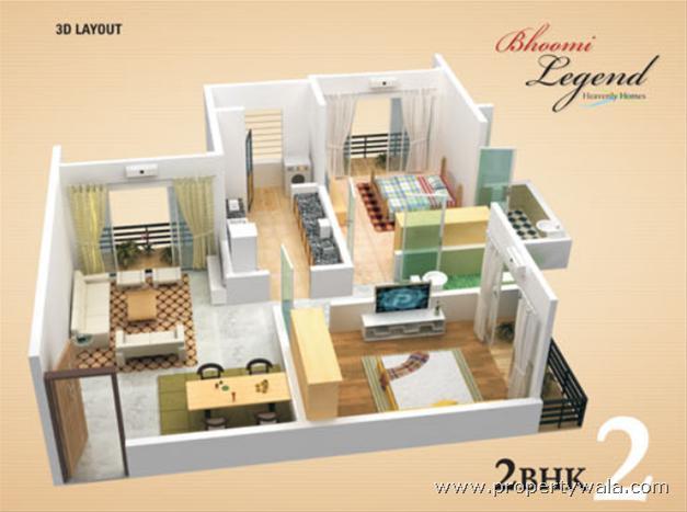 Bhoomi Legend Kandivali East Mumbai Apartment Flat