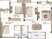 3BR(1414 sq. ft.)