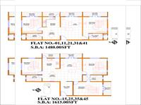2, 3BHK - Floor Plan
