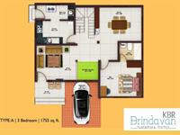 3BHK 1755 Sq.Ft.