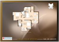 1120 sq. ft. Floor Plan