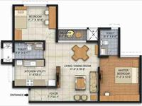 Ready to move 2BHK Apartment in Brigade Panorama