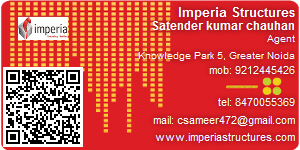 Visiting Card of Imperia Structures Ltd.