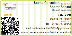 Visiting Card of Bansal Real Estate Consultant