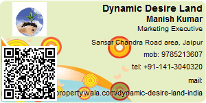 Visiting Card of Dynamic Desire Land India Ltd