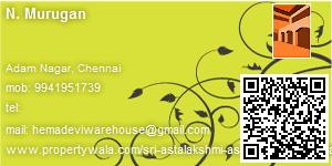 Visiting Card of Sri Astalakshmi Associates Consultant & Broker