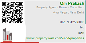 Visiting Card of Vinod Properties