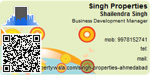 Visiting Card of Singh Properties
