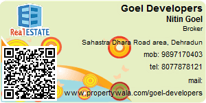Visiting Card of Goel Developers