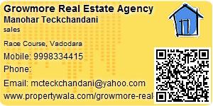 Visiting Card of Growmore Real Estate Agency