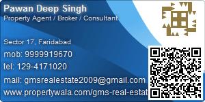 Visiting Card of GMS Real Estate