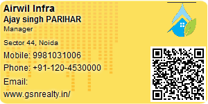Visiting Card of Airwil Infra Ltd