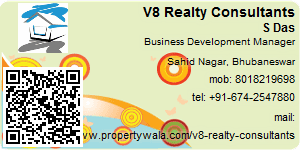Visiting Card of V8 Realty Consultants