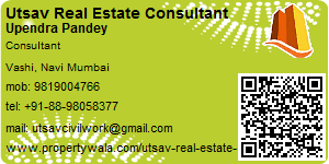 Visiting Card of Utsav Real Estate Consultant