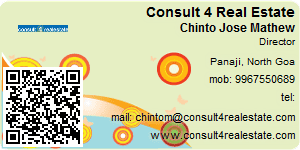 Visiting Card of Consult 4 Real Estate