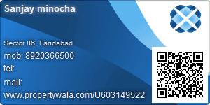 Sanjay minocha - Visiting Card