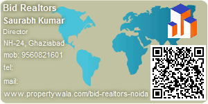 Visiting Card of Bid Realtors
