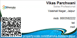 Visiting Card of Dhanuka Builders