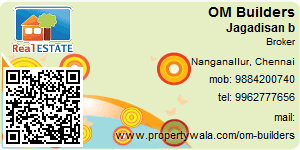 Visiting Card of OM Builders