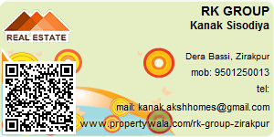 Visiting Card of RK GROUP