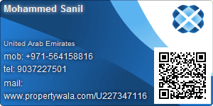 Mohammed Sanil - Visiting Card