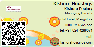 Visiting Card of Kishore Housings Pvt Ltd