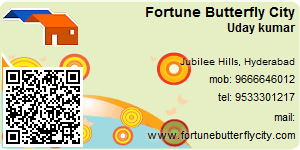 Contact Details of Fortune Butterfly City