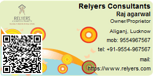 Visiting Card of Relyers Consultants Pvt Ltd