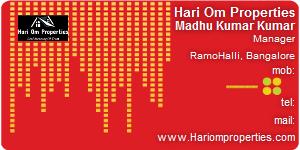 Contact Details of Hari Om Properties