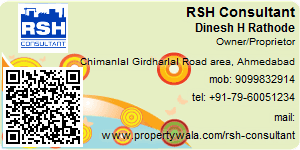 Visiting Card of RSH Consultant