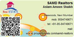Visiting Card of SAMD Realtors