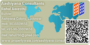 Visiting Card of Aashiyana Consultants