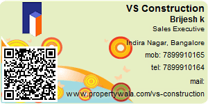 Visiting Card of VS Construction