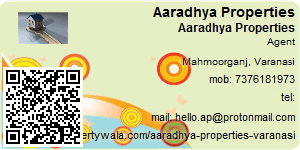 Visiting Card of Aaradhya Properties