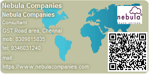 Visiting Card of Nebula Companies
