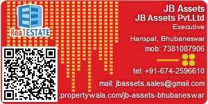 Visiting Card of JB Assets Pvt Ltd