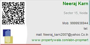 Visiting Card of ABN Propmart Pvt Ltd