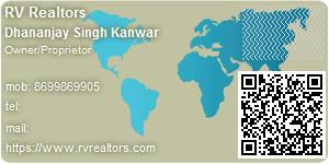 Visiting Card of RV Realtors