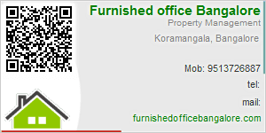 Visiting Card of Furnished Office Bangalore