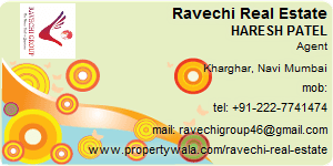 Visiting Card of Ravechi Real Estate