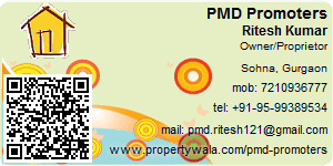 Visiting Card of PMD Promoters Pvt Ltd