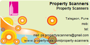 Contact Details of Property Scanners