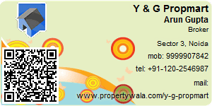 Visiting Card of Y & G Propmart