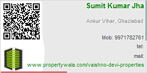 Visiting Card of Vaishno Devi Properties