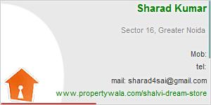 Visiting Card of Shalvi Dream Store